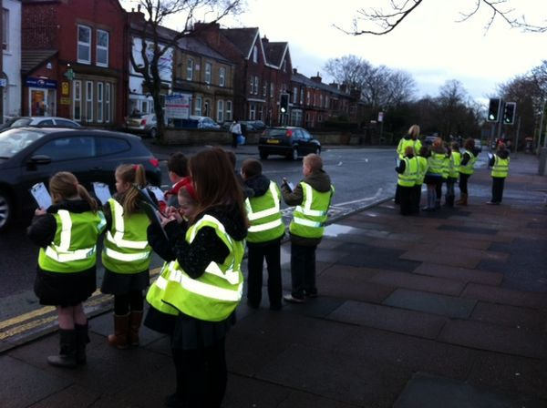 Parkfield Primary School Year 3 And 5 Road Safety Work