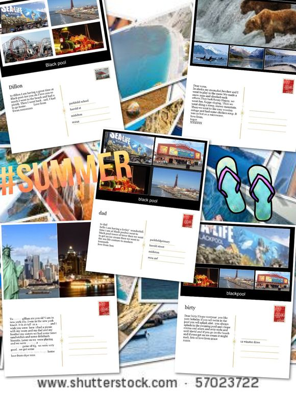 Year 1 Writing Postcards 🌍📮📲