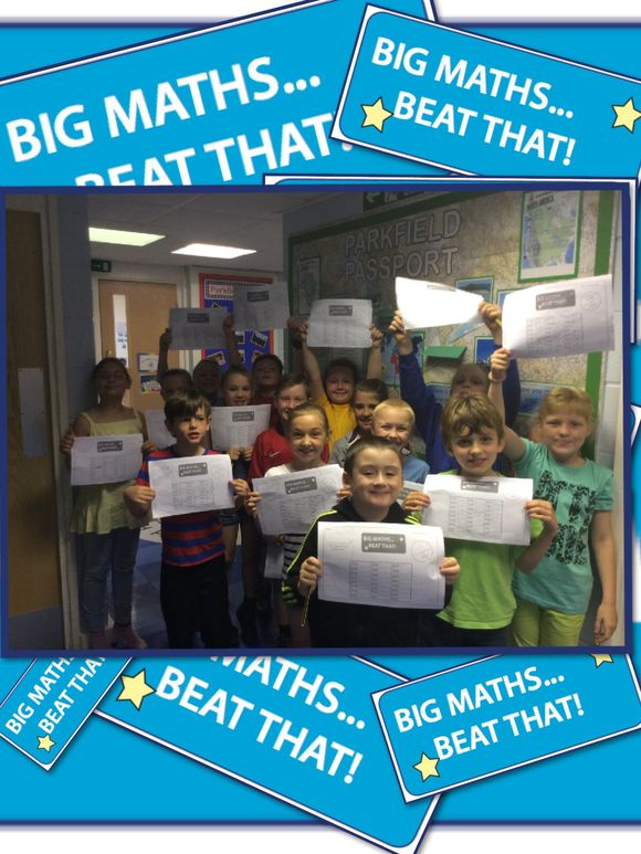 Y3 Big Maths.... Beat that!