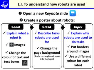 LI for robots