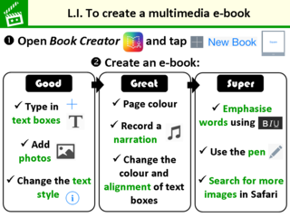LI for Book Creator