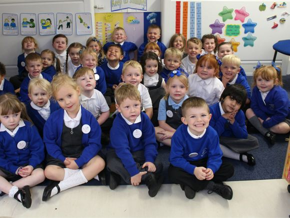 Our lovely new Reception class