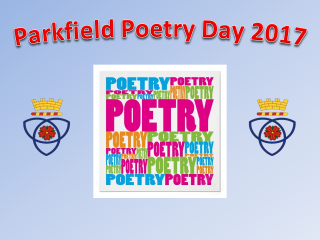 Poetry Day Assembly 2017 title