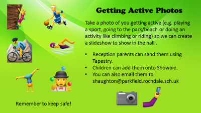 Getting active photo