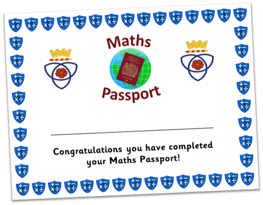 Parkfield Primary School - Maths Passports
