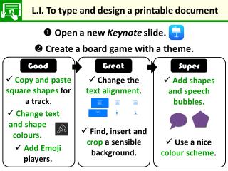 LI for board game