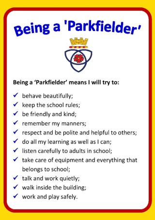 Being a Parkfielder