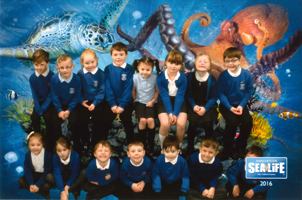 Parkfield Primary School - Year 1 Sea Life Manchester Trip