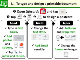 LI for Lifecards