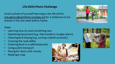 Life skills photo challenge