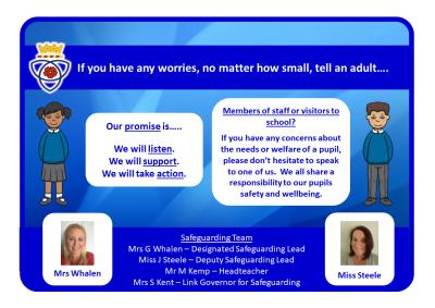 Parkfielder safeguarding poster