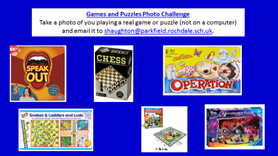 Games and Puzzles Photo challenge